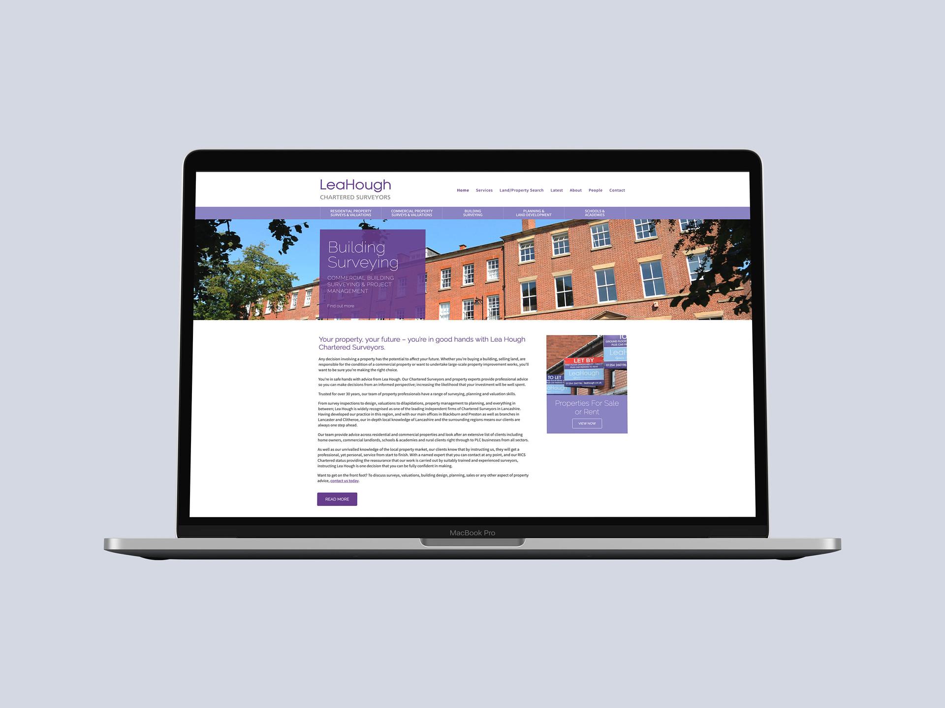 Lea Hough Responsive Website Design Development and SEO