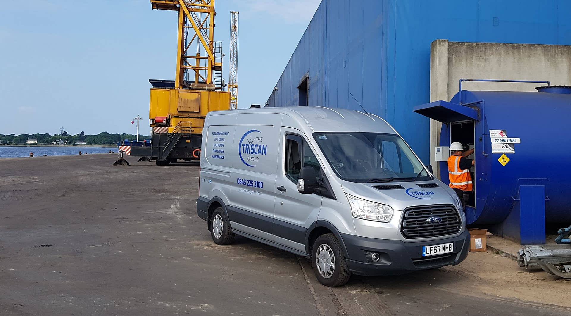 The Triscan Group Responsive Photography Van Livery Design