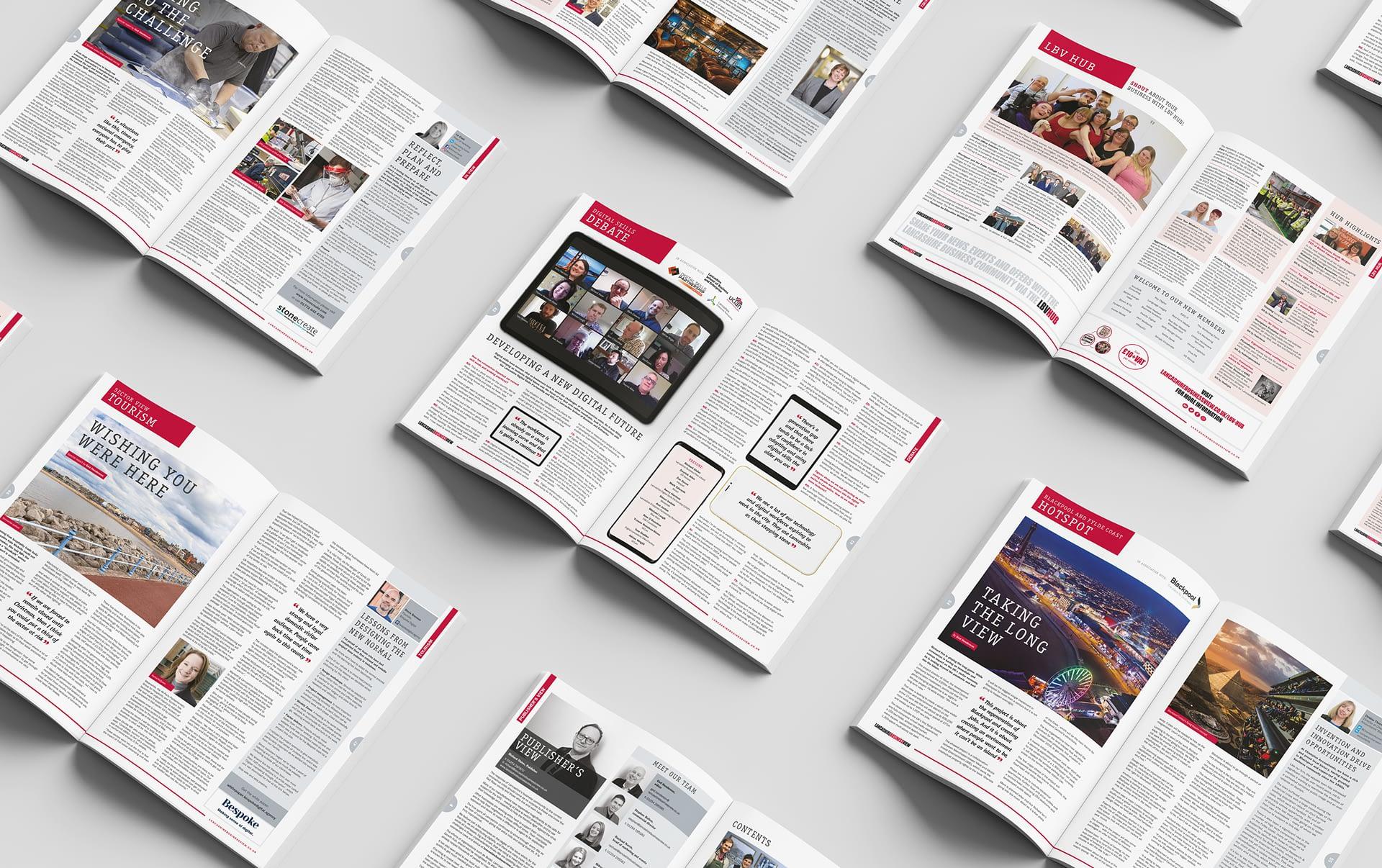 Lancashire Business View Magazine Spreads