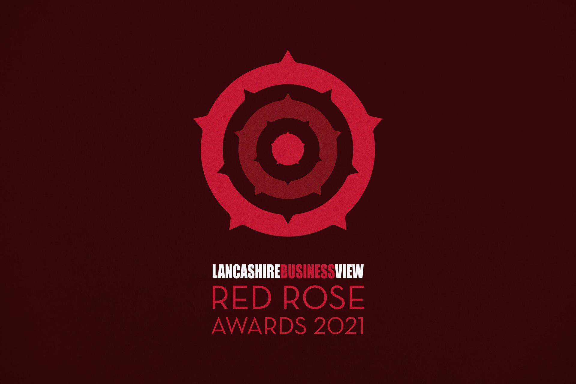 Red Rose Awards Branding Logo Design Identity