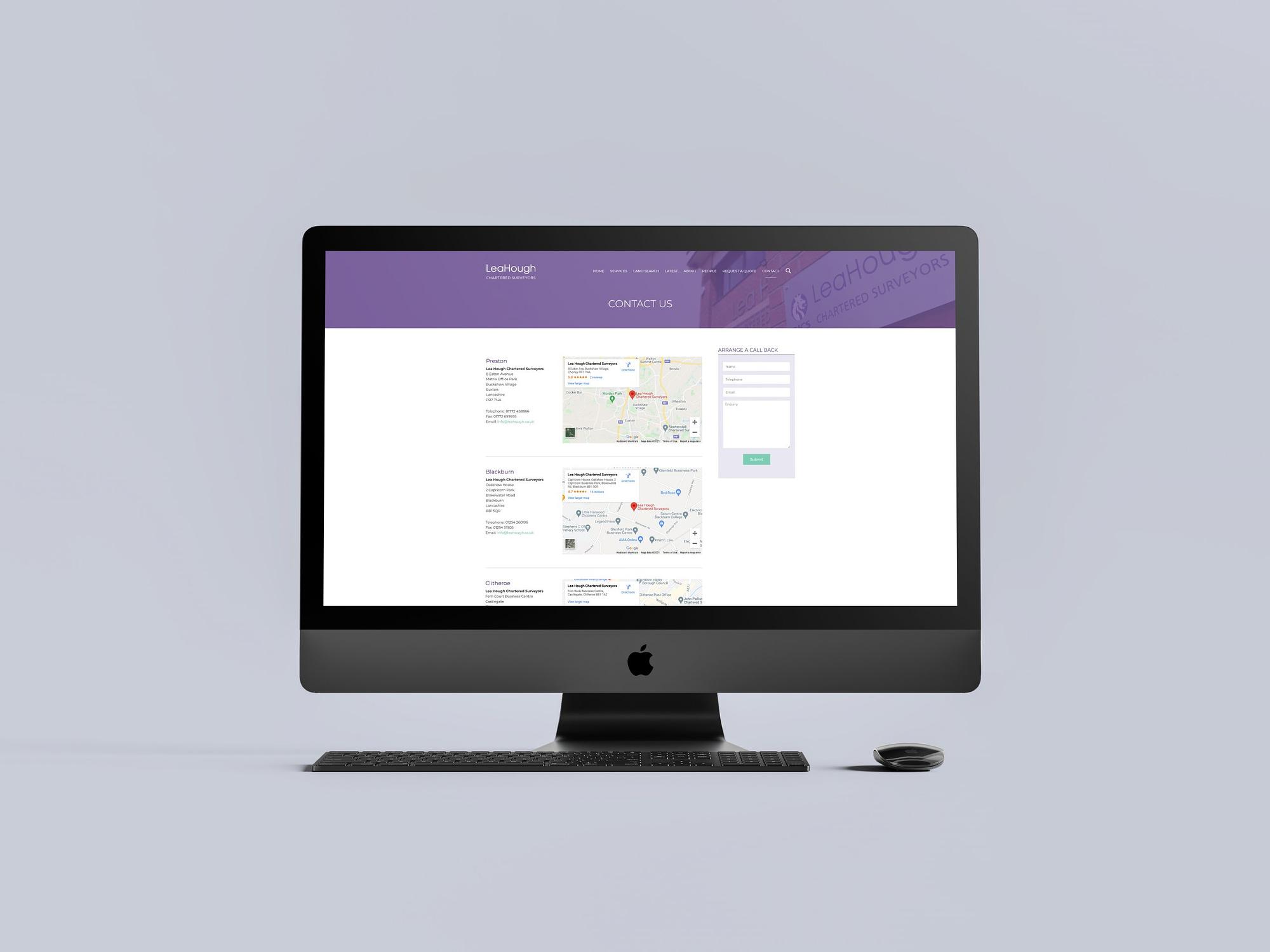 Lea Hough New Website